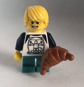 即決 新品 未使用 レゴ LEGO ミニフィギュア ミニフィグ 男の子 クロワッサン タウン シティ かわいい子供