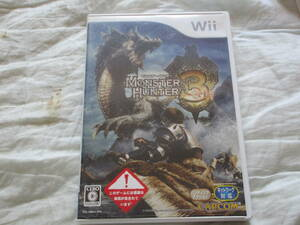 Wii モンスターハンター3 トライ