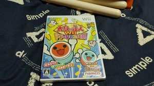 Wiiソフト 太鼓の達人Wii ドドーンと2代目! ソフト単品版