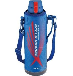 和平フレイズ 水筒 スポーツ ワンタッチ栓ダイレクトボトル フォルテック・スピード 1.45L ブルー 真空断熱構造 直飲み 保冷専用 RH-1428