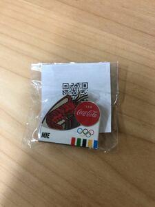 東京オリンピック 聖火リレー ピンバッジ コカコーラ コーラ 三重県 三重