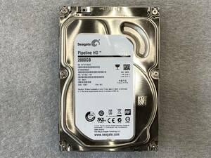 SEAGATE HDD ST2000VM003 2TB SATA 3.5インチ パナソニック DIGA ディーガ 取り外し 使用時間325