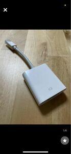 Apple プロジェクター Apple純正品 接続機器 使用わずか