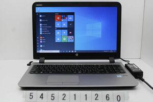 hp ProBook 450 G3 Core i5 6200U 2.3GHz/16GB/128GB(SSD)+1TB/Multi/15.6W/FWXGA(1366x768)/Win10 【545211260】