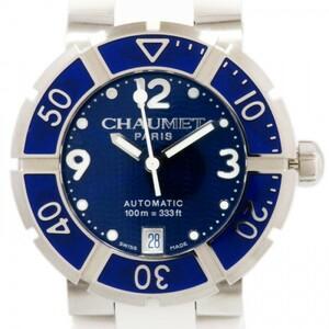 ショーメ CHAUMET クラスワン W1728Y38Z ブルー文字盤 新品 腕時計 レディース