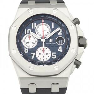 オーデマ・ピゲ AUDEMARS PIGUET ロイヤルオークオフショア クロノグラフ 26470ST.OO.A027CA.01 ブルー文字盤 新品 腕時計 メンズ