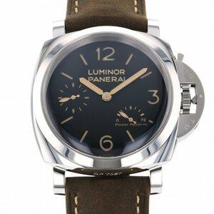 パネライ PANERAI ルミノール 3デイズ パワーリザーブ PAM00423 ブラック文字盤 新品 腕時計 メンズ