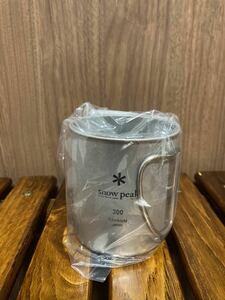 スノーピーク マグカップ 300 チタン シングル シェラカップ