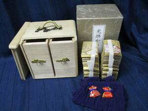 A5-296 送料無料「光琳かるた」小倉百人一首 一組 木箱付き ほるぷ出版 日本古典文学会