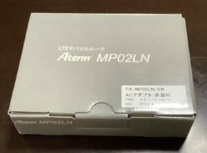 NEC Aterm モバイルルーター MP02LN SW 新品未使用