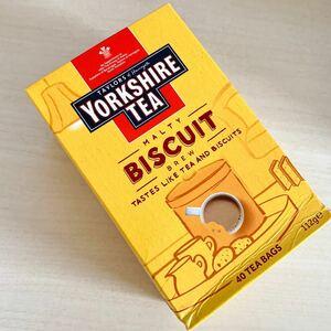 【紅茶 Yorkshire tea BISCUIT 40袋入】