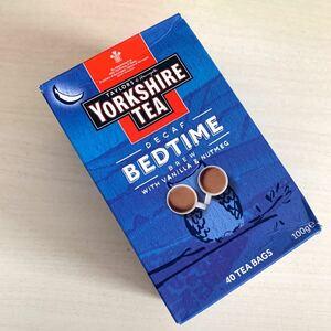【紅茶 Yorkshire tea BED TIME 40袋入】