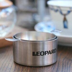 最終値下げ 未使用 希少品 高級 LEOPARD 日産レパード販促品 18-8 ステンレス ティーストレーナー ドリッパー 茶こし
