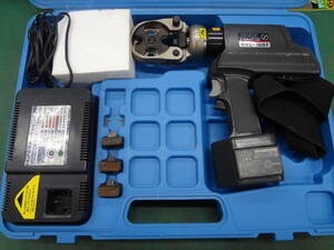 ●泉精器 電動油圧式圧着工具 REC-150F  IZUMI イズミ 電動油圧式工具 ●0