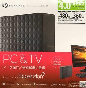 新品 SGD-NY040UBK [Expansion SGD-NYUシリーズ 4TB ブラック]