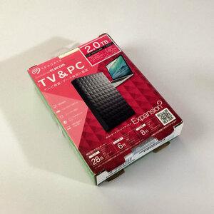 【未使用品】SEAGATE SGP-MX020UBK 2TB 外付け ハードディスク HDD シーゲイト 2.5インチ MX