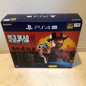 PlayStation4 Pro レッド・デッド・リデンプション2 パック 1TB CUHJ-10028