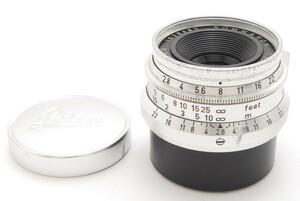 【ランクB】 ライカ Leica ズマロン SUMMARON 35mm F2.8 Lマウント 162万台 ブルーコーティング (#292)
