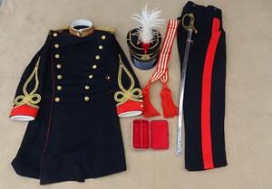 明治期 陸軍中尉 指揮刀付き 大礼服 保存状態最高品!