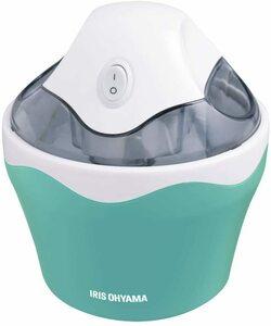 新品 送料無料 アイリスオーヤマ アイスクリームメーカー バニラミント ICM01-VM 薄いグリーン 緑 手作りアイス コンパクト