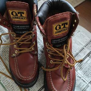 本皮使用 GTホーキンス 登山靴 レディース サイズ23.5-24.0cm 使用感無し