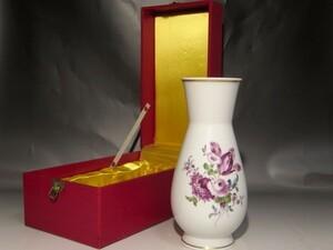マイセン 花瓶 美しい景色 r661