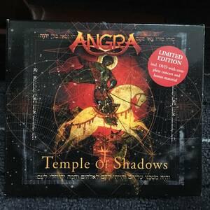 CD+DVD Angra Temple of Shadows アングラ 輸入盤