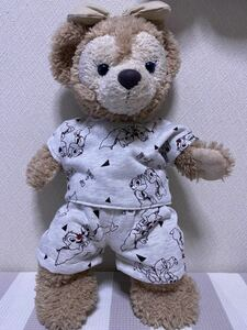 43センチダッフィーシェリーメイのパジャマコスチューム