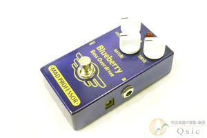 [良品] Mad Professor Blueberry Bass Overdrive ビンテージのチューブアンプを彷彿とさせる艶やかさとダイナミクスが魅力 [RH882]●