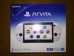 SONY PS Vita PCH-2000 本体 グレイシャー・ホワイト 新品・未使用