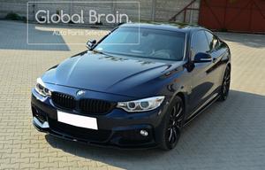 BMW 4シリーズ F32 Mスポーツ フロント バンパー リップ スポイラー / アンダー スプリッター エプロン バンパー ディフューザー Ver.1
