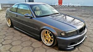 1999-2003 BMW 3シリーズ E46 Mスポーツ クーペ サイド スカート カバー スポイラー / スプリッター ディフューザー アンダー