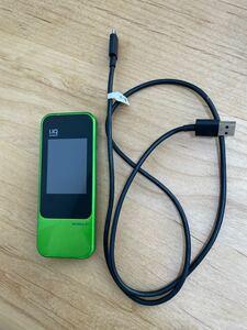 UQ WiMAX 2+ CE0168 モバイルルーター WiFi