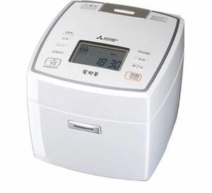IH炊飯器 備長炭 炭炊釜 5.5合炊き ピュアホワイト NJ-VV109-W 三菱電機