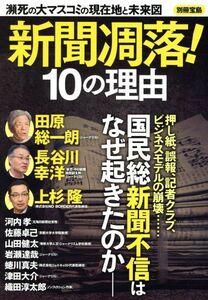 新聞凋落!10の理由 瀕死の大マスコミの現在地と未来図 別冊宝島/宝島社