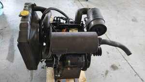 ヤンマーディーゼル セル付 油圧ポンプ付 実働