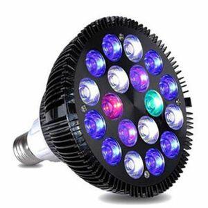 ◆アクアリウム LED ライト 水槽 照明 45W 15LED 白×15 電球型 E26 ソケット対応 熱帯魚 水草 流木 インテリア 観賞用◆送料込み◆
