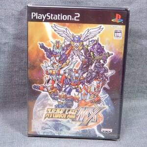 n534▽【未開封】PS2用ソフト スーパーロボット大戦 MX ◇バンプレスト