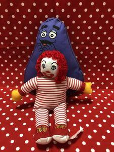 マクドナルド おもちゃ ドナルド グリマス ハンバーグラー バーディ ハッピーセット ミールトイ 人形