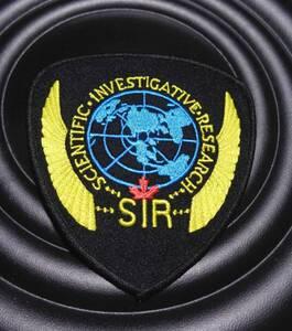 黒黄◆新品未使用 カナダ軍 CANADA SCIENTIFIC INVESTIGATIVE RESEARCH刺繍ワッペン(パッチ)◆◇サバゲー・ミリタリー◎