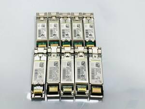 ☆【10個まとめ売り】Cisco モジュールSFP-10GB-SR☆10-2415-03/光トランシーバー/動作品/Z285