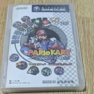 マリオカートダブルダッシュ  ゲームキューブソフト
