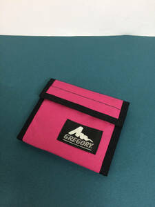 USA製 グレゴリー スポーツウォレット 財布 フーシャ ピンク