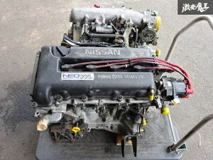 Nissan original HP11 Primera latter term SR20VE NEO VVL engine body supplemental devices attaching O/H after 4 ten thousand km piston connecting rod weight join block surface . shelves 1D11