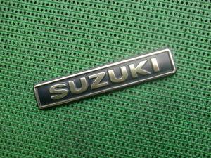 GS400 貴重 ステムエンブレム SUZUKI 検/GS400E GS425 GSX250 GSX400 GT380 GT750 ザリ ゴキ 絶版旧車