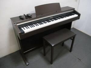 CASIO 電子ピアノ CELVIANO セルヴィアーノ AP-220BN 88鍵 動作良好 オークウッド調 直接引取り歓迎 カシオ デジタルピアノ