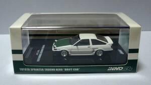 INNO64 イノモデル 1/64 トヨタ スプリンタートレノ AE86 ドリフトカー ドリキン 土屋圭一