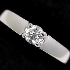 BVLGARI ブルガリ マリーミー Pt950 プラチナ ダイヤモンド リング 指輪 9号