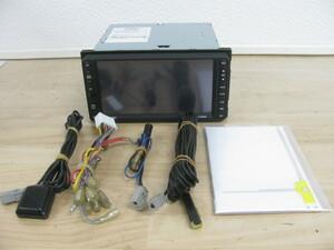 [100335-B]スバル純正(クラリオン) 200mmワイド HDDナビ GCX708AW(NX708同等) ワンセグ内臓 DVD再生 地図2008年 動作良好