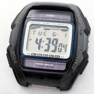 稼働 CASIO デジタルソーラー TOUGH SOLAR 腕時計 フェイスのみ WL-500 10気圧防水 0520-58-6-510